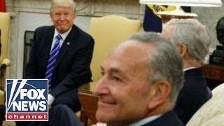 Schumer applauds Trump as NRA pushes back