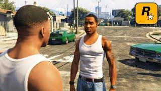 GTA V - CJ meets Franklin Part 3