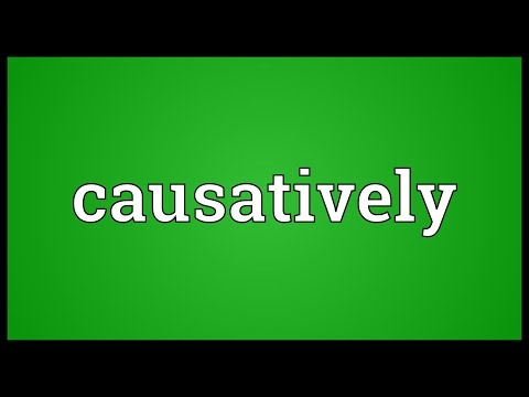 Header of causatively