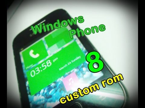 Windows Phone 8 Rom on Galaxy Y