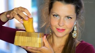 ASMR FRANÇAIS ~~ très relaxant ~~/ Wood Tapping & Scratching / Binaural / chuchotement & tapotement