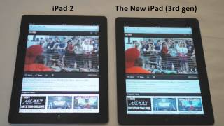 Apple's new iPad 3 vs. iPad 2_ Browsing Speed Comparison
