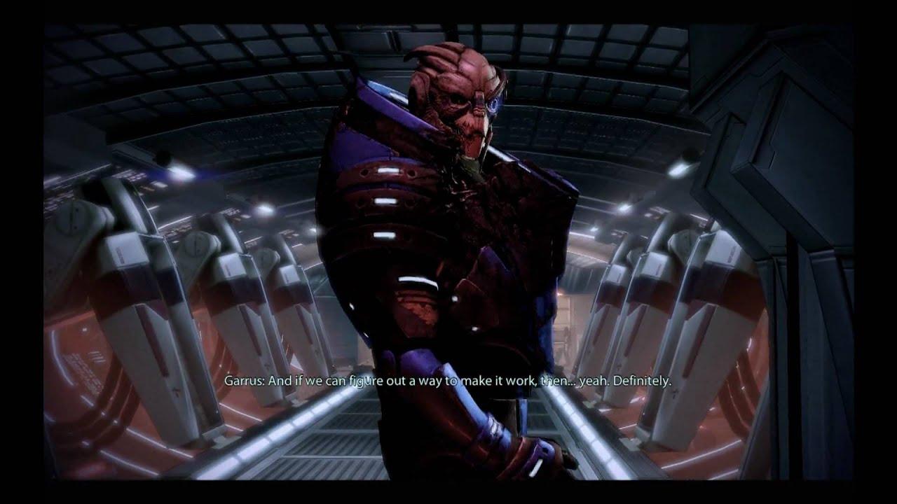 Garrus Vakarian Romance Wallpaper Mass Effect 2 Garrus Romance