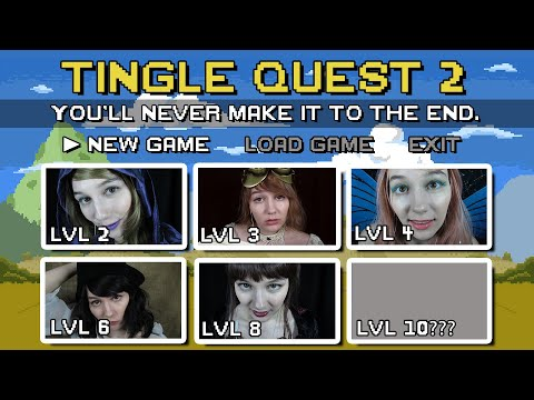 ASMR Tingle Quest 2! RPG Roleplay! Each Level More Tingly Than the Last! Can You Make It to the End?