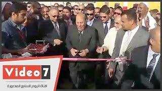 عادل لبيب وأحمد أبو هشيمة يفتتحان أعمال تطوير قريتى أبو صالح والغرقد