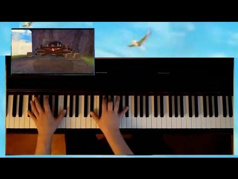 Zelda Skyward Sword - Crimson Loftwing Theme, Piano