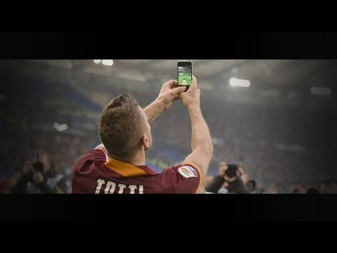 Francesco Totti vs Lazio (H) 14-15 HD 720p by i7xComps