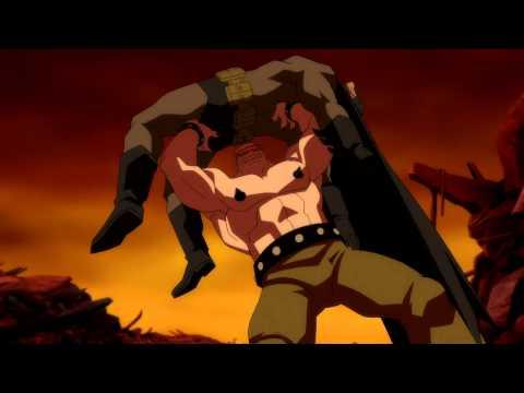 Batman: The Dark Knight Returns Part I- Batman Vs. Mutant Leader 1