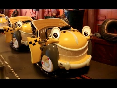 Roger Rabbit's Car Toon Spin (Full Ride : HD POV) - Disneyland CA