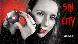 ASMR Sin City ROLE PLAY 💋 Tapping, Follow the light, Medical help + gloves &  Soft spoken & accent
