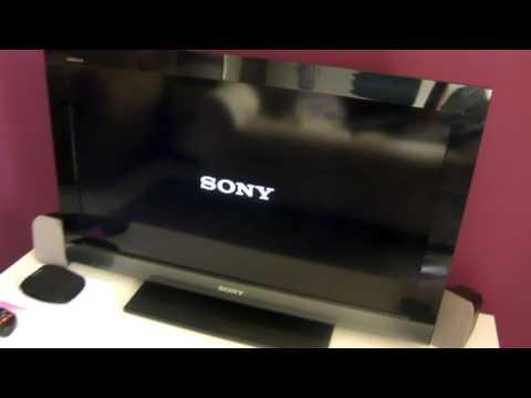 TV LCD Sony Bravia KDL-32EX405 com defeito