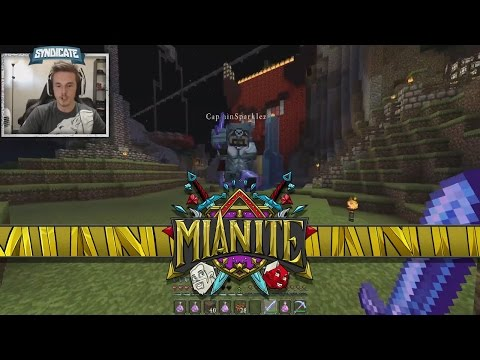 Minecraft: Mianite - 1v1'ing Captain Sparklez! [24]