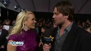 Download Lagu Carrie Underwood Gets Interviewed By  Mike Fisher Gratis STAFABAND