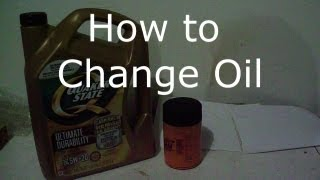 How to Change your  Oil In your Car or Truck ,Oil Change Ford Ranger.