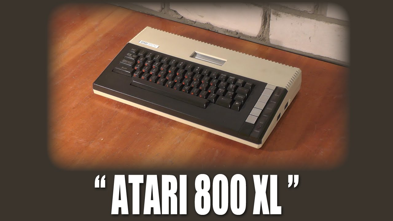 """Первое Включение: """"Atari 800XL"""""""