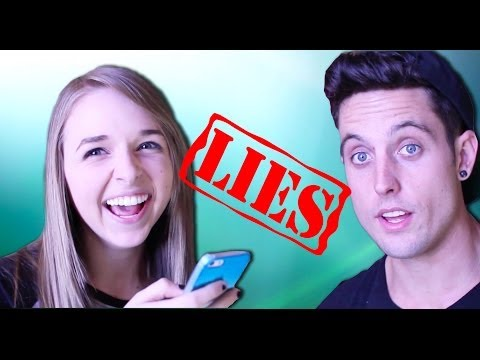 LIE DETECTOR CHALLENGE with JennXPenn & Sawyer Hartman