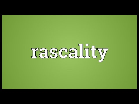 Header of rascality