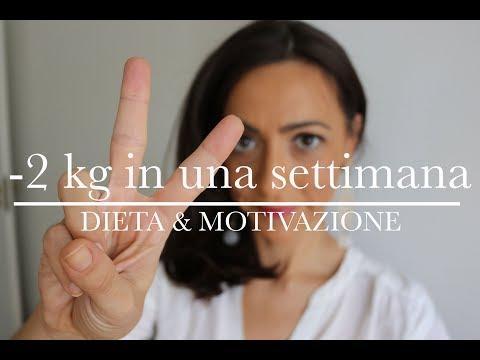 - 2 Kg In Una Settimana | Dieta E MOTIVAZIONE | AnnalisaSuperStar