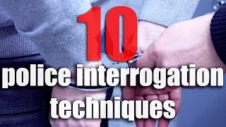 10 Police Interrogation Techniques That You Need To Know About: How Do Police Extract Confessions?