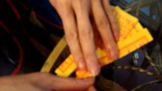 趕時間時最簡易的摺往生錢元寶的方法