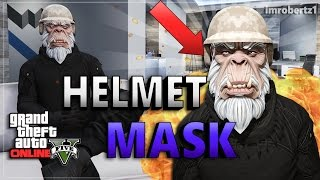 GTA 5 Online - Best Helmet Mask Glitch! Helmet Mask Outfit! Cool Modded Clothing! (GTA 5 Glitches)
