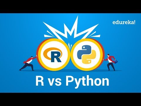 R vs Python | Best Programming Language for Data Science and Analysis | Edureka
