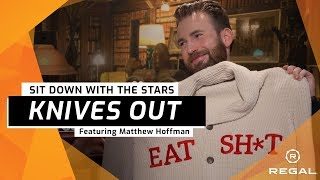 Knives Out: Sit Down With the Stars Feat. Rian Johnson, Chris Evans, Ana De Armas, Daniel, & MORE!