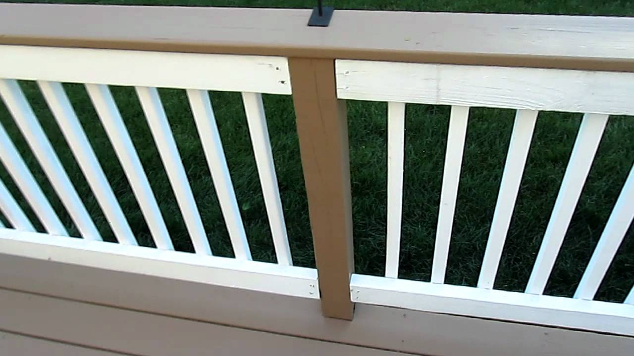 Behr Premium Deck Stain, 2 years in, going strong! - YouTube