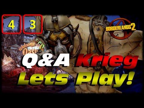 Borderlands 2 Krieg Q&A Lets Play Crossover Ep 43! Hodunks Clan War Side Mission Leveling ! TVHM!