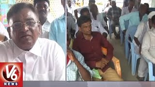 Ex Minister Gaddam Vinod Visits Mandamarri Village | Gives Assurance Over Drinking Water