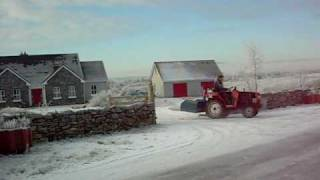 tractor drifting