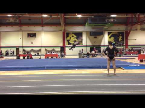 Macie Miller 2017 Gymnastics Level 10 Regionals 2013 Floor