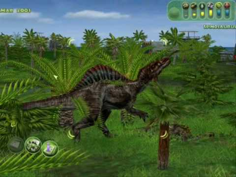 jurasic Park Operation Genesis-Spino Hunt