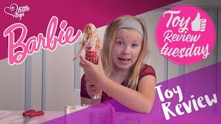 Barbie Doll Kitchen Bakery Chef Playset - Toy Review Tuesday EP1