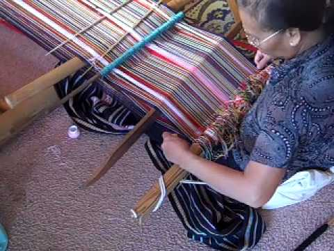 Montagnard Weaving: Back Strap Loom