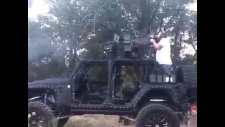 50 Cal + Jeep