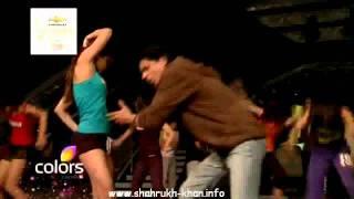 Shahrukh Khan- rehearsal Apsara awards 2012