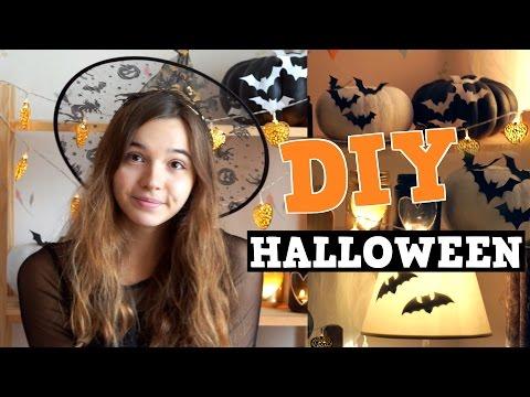 DIY 🎃 ХЭЛЛОУИН 🎃 Декор Комнаты И Украшения На Halloween СВОИМИ РУКАМИ