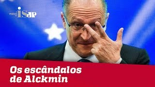 Os escândalos de Alckmin