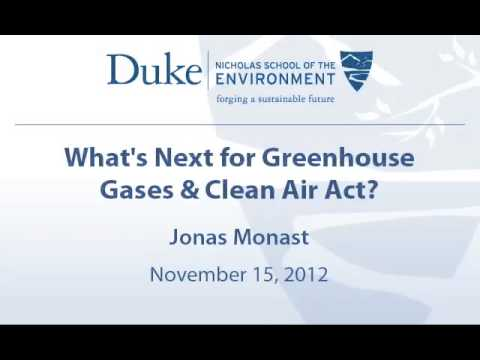 What's Next for Greenhouse Gases & Clean Air Act?