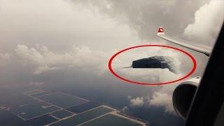 10 Ovnis que han sido grabados desde el Avión