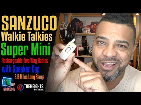 Sanzuco Super Mini Rechargeable Walkie Talkies 🔊 : LGTV Review
