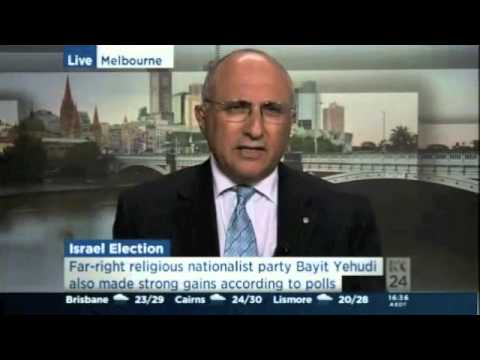 Dr Colin Rubenstein on Israel's 2013 Election results