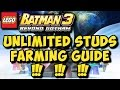 LEGO Batman 3 Beyond Gotham UNLIMITED STUDS Stud Boosting Farming Guide Xbox One PS4 mp3