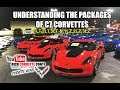 WHAT ARE DIFFERENCES in 1LT,2LT,3LT & 1LZ,2LZ,3LZ CORVETTE PACKAGES on C7