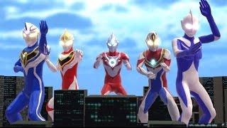 MMD Ultraman Orb Origin Saga The Good Of Saisu Academia