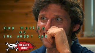 Robot Makes Guy A Cup Of Camomile Tea   Guy Vs The Robot Car   Guy Martin Proper