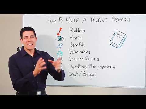 Video Tutorial On Project Management Proposal.