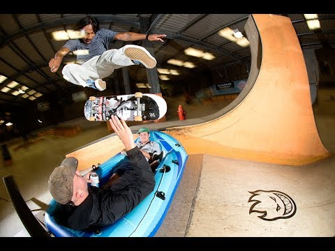 Vans Shop Riot 2018 at Mount Hawke Skatepark, Cornwall