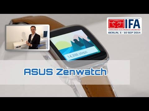 IFA 2014: ASUS ZenWatch im Hands On [german/HD}